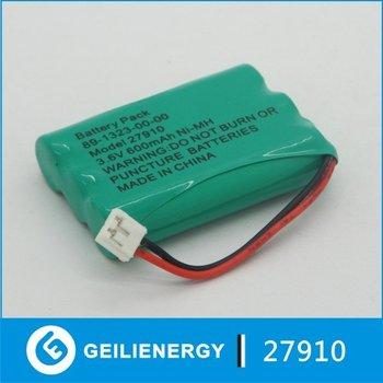 Ni-MH  600mAh cordless phone battery AAA 3.6V for ATT/Lucent 27910 80-5848-00-00