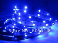 [Seven Neon]Free shipping 5meters non-waterproof blue light 30leds/meter 150leds 5050 led smd strip