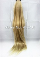 20inch long 1pcs Straight pony tail Synthetic hair extension #27T613