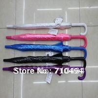 transparent umbrellas, rain clear umbrella, 10pcs/lot, free shipping, 5 colors choice, logo print acceptable