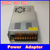 12V 30A 360W Switch Power Supply Driver For LED Strip Display 220V/110V 1059