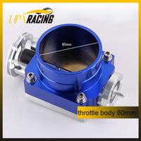 Hight quality universal  throttle valve performance cnc 80mm intake throttle body