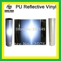 TJ High-Quality Heat Transfer Vinyl, PU Reflective Vinyl,T-shirts vinyl(width=0.5meter) 1 meter