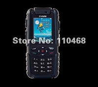 [Outfone Certificated] 100% original A81 u-mate dustproof IP57 Waterproof dual sim GSM+CDMA GPS russian keyboard unlocked phone