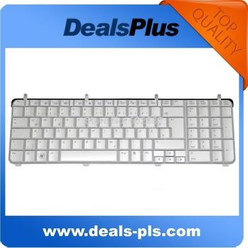 Brand New FOR HP Pavilion DV7 DV7-2000 DV7-3000 German GR Keyboard White Glossy