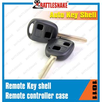 Original car key shell,remote control case for Toyota Lexus 2 button car key shell free shipping