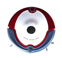 (Free shipping for Malasia/Singapore/Japan customer)Talking robot vacuum cleaner with two side brush