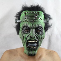 FREE SHIPPING!!!Wholesale each type of toys, masks, Halloween party bar performance mask/ variation green face zombies mask