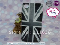Free shipping Vintage UK Flag Hard Case for iproducts 4G/4s  Back case
