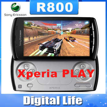 R800 Original Sony ericsson Xperia PLAY R800 Zli  3G Wifi GPS Android Game Cell Phone One Year Warranty