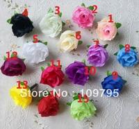 Small Rosebud, Artificial Silk Flower Head, Small Rose Head, Wedding Flowers,3cm, Wholesale 200pcs/lot, 15 Colors Assorted