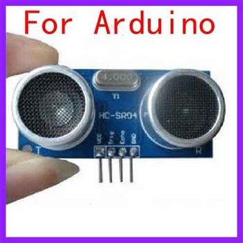 10pcs/lot HC-SR04 Ultrasonic Sensor Module Wave Sensor Ranging Detector Distance Module for Arduino, Free Shipping, Dropshipping