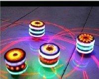 Free shipping children Shine gyro laser gyro music gyro  toys