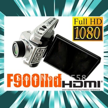 "F900 Car DVR camera 1440*1080p 30fps driving video recorder 2.5"" LCD 4"