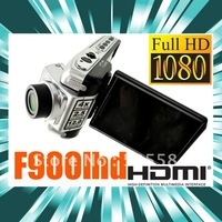 "F900 Car DVR camera 1440*1080p 30fps driving video recorder 2.5"" LCD 4 X Digital zoom Car black box HDMI dash Car cam F900LHD"