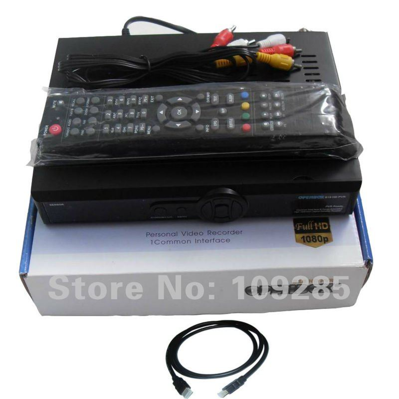 Original Openbox S16 1080P HD PVR FTA Satellite Receiver + free HDMI Cable(China (Mainland))