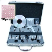 Tattoo Body Piercing Kit Gun Tool Needle for Navel Ear Tongue Worldwide Free Shipping  BY DHL
