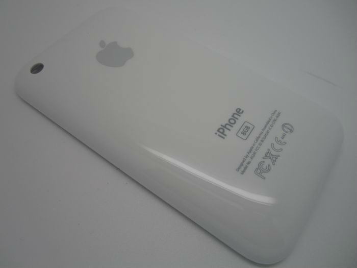 5pcs/lot.Back cover case for iphone 3GS white housing,,free shipping ,best price on the aliexpress.32G(China (Mainland))