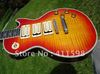 wholesale cherry sunburst Ace frehley signature mahogany body electric guitar free shipping