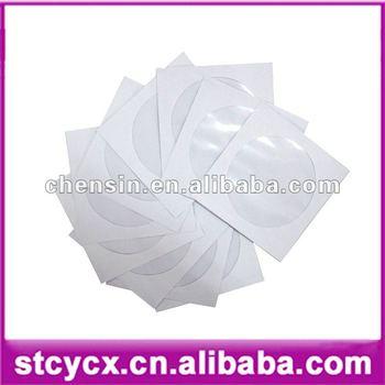 Free shipping! 100pcs/set! 12cm  Paper CD DVD Flap Sleeves Case Cover Envelope