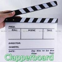Clapperboard Clapper Board TV Film Movie Slate  1pcs NEW
