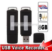 Mini 8GB USB Drive Digital Audio voice Recorder usb dictaphone