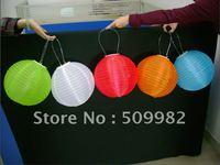 "8pcs/lot+Free Shipping,16"" Solar Powered Chinese Lantern,Solar Lanterns Patio Garden/ Party/Festival/Decoration/Yard /LED light"