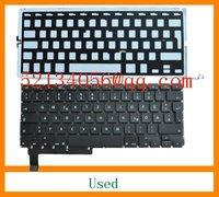 "Used German keyboard for MacBook Pro Unibody 15.4"" A1286 2009 2010 2011 Year"