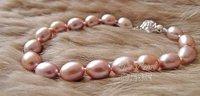 New Arrival, Wholesale fashion pearl jewelry bracelet,Top selling Bracelet, 7-8mm Freshwater Pearl NO.BL0026