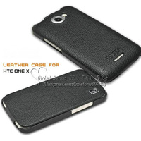 Genuine leather case for HTC ONE X S720e Original ICarer hard case leather handbag for G23 with retail box 4 colors avail