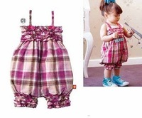 Baby girls Pants kids children romper tape pants Girls girls Romper 1022 B why