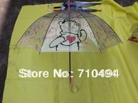 crystal handle sun parasol umbrella, transparent clear umbrella, UPF 60, 60pcs/lot, Free shipping
