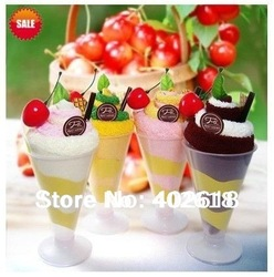 5pcs/lot Hot sale, ice cream towel, cake towel, birthday gifts, Christmas gifts,100%cotton, multicolor, free shipping(China (Mainland))