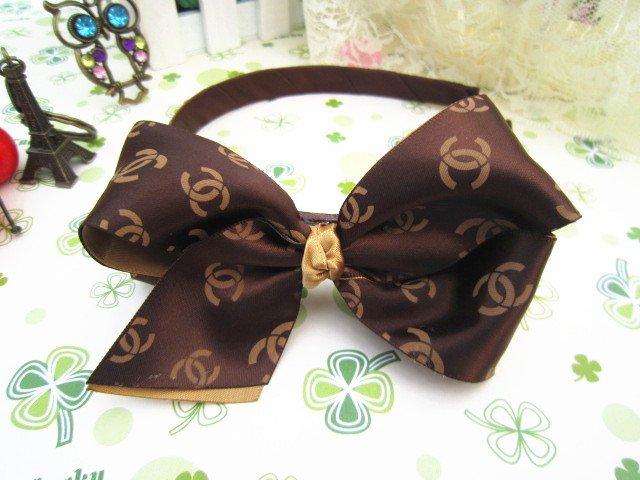 Freeshipping! New fashion high quality ribbon bow Hairbands/Headbands/Hair wear/Hair Accessories/Wholesale(China (Mainland))
