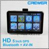 HD 800*480 5inch GPS Navigator  BT&AV IN 4GB DDR 128M load new 3D map(China (Mainland))