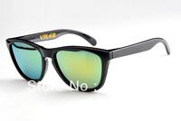 Hot Designer Brand Sunglass Men's/Women's Frogskins VR46 Black Sunglass Fire Iridium Lens 55mm Polarized