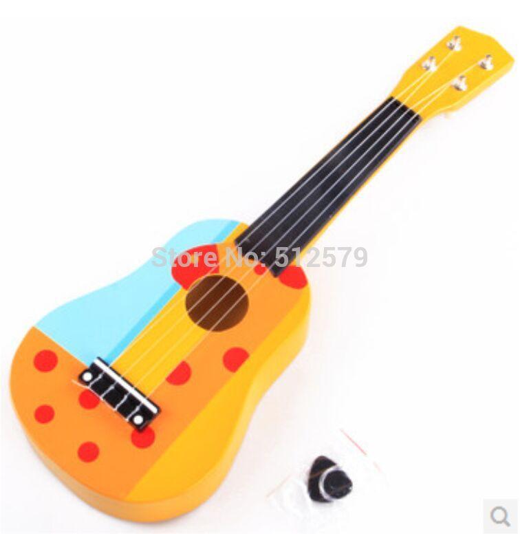 hechos a mano de los ninos de instrumentos musicales guitarras de los