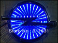 Blue Color 3D LED Car Decal Logo Light Badge Lamp Emblem Sticker for OPEL Free Shipping