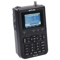 free shipping Satlink WS-6906 Digital Satellite Finder Meter TV Signal Receiver For setting & aligning