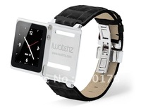 iwatchz Timepiece collection Leather Strap iwatchz clips for nano 6 + Free DHL shipping  50pcs/lot