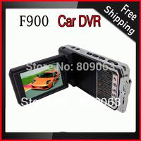 Good Quality F900 720p 2.5inch TFT LCD Screen HD Car DVR, 5.0 Mega Pixels Video Camcorder Free Shipping