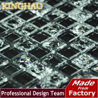 kinghao - зеркало плитка серебра Зеркало мозаика плитка km2519 телевизор ktv фон стены стекло кристалл мозаика плитка