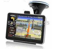 100% Cheapest  5 inch car GPS Navigation System car audio car navigator 4GB 3D map  Euro or Russia Ukraine Belarus Or America