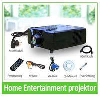 2200 Lumen Helligkeit projektor/beamer with Schnittstelle: 2HDMI+2USB+VGA,YPbPr,S-Video,Composite A/V,Audio out (L/R),DIGITAL TV