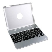 FREE SHIPPING ! Rechargeable wireless bluetooth keyboard Case for iPad 2, Built-in 4000mAh Battery can charge