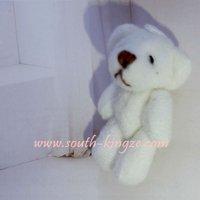 Hot Sale Free shipping, 15pcs/lot, 20cm Teddy bear use for bag,callphone,Promotional items.   toy bear, plush bear..