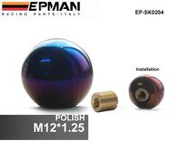 EPMAN - (M12*1.25) High quality Full Titanium shift knobs/shift knob/ gears header parts EP-SK0204