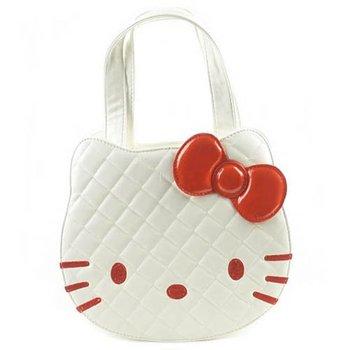 Hello Kitty bags white face for girl lovely gift  totes shoulder bags Christmas gife handbag 9058 BKT255