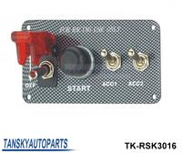 Tansky-Racing Switch Kit Car Electronics/Switch Panels-Flip-up Start/Ignition/Accessory TK-RSK3016