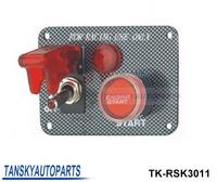 Tansky-Racing Switch Kit Car Electronics/Switch Panels-Flip-up Start/Ignition/Accessory TK-RSK3011